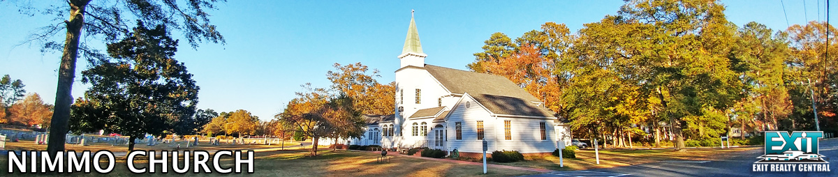 Front of Nimmo Church