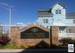 Kemps Village Neighborhood Sign